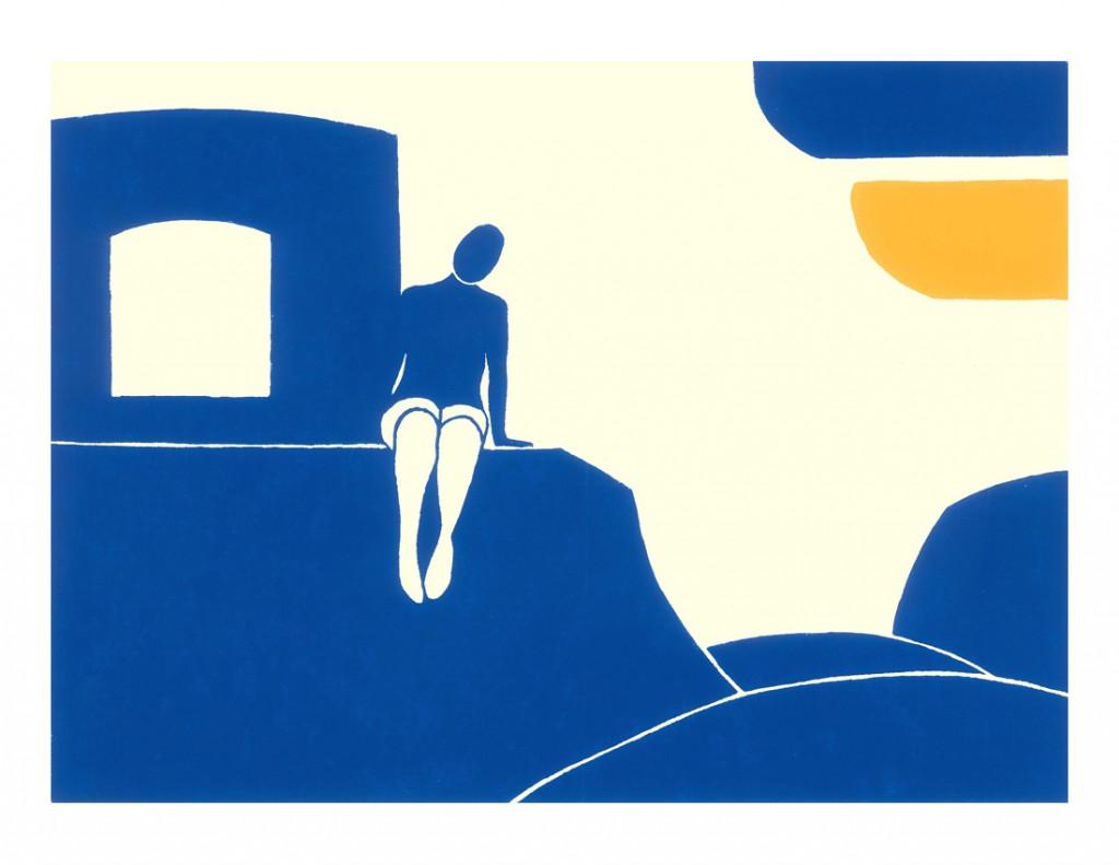 Girl beside a stream by Lucas Weschke