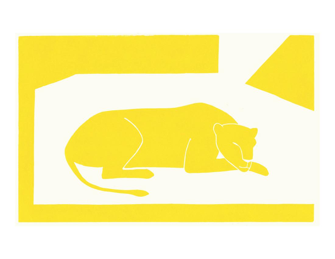 The secret lion by Lucas Weschke