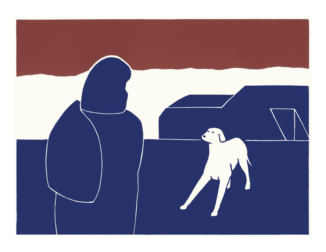 The silent dog by Lucas Weschke